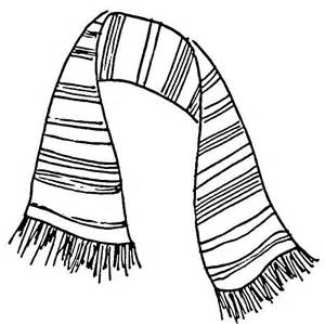 Image Gallery Scarf Drawing