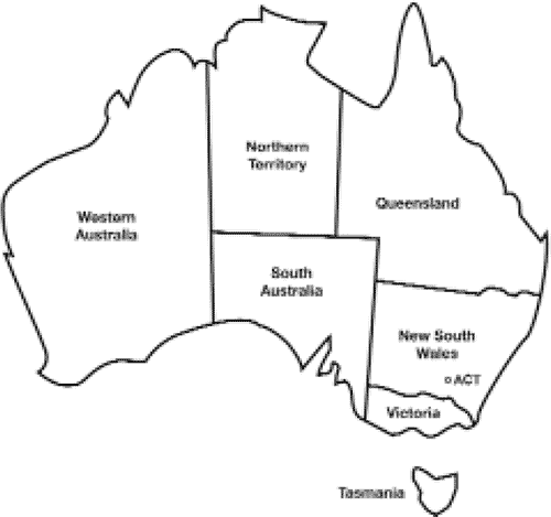 Government Final on emaze – Map of the States of Australia