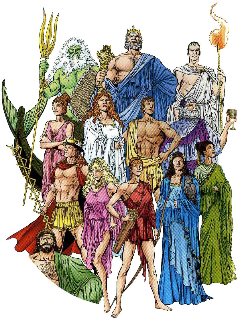 Spiksplinternieuw Welke Griekse/Romeinse god(in) ben jij? - Uitkomsten - Quizlet.nl GV-84