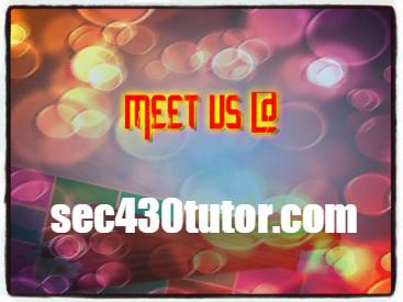 SEC 430 TUTOR Success Secrets/ sec430tutor com by g
