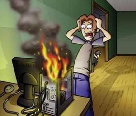 Resultado de imagen de amenazas informáticas fisicas
