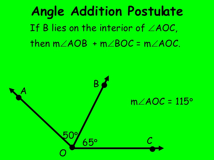 Segment Addition Postulate Academic Worksheet geometry angle – Segment Addition Postulate Worksheets