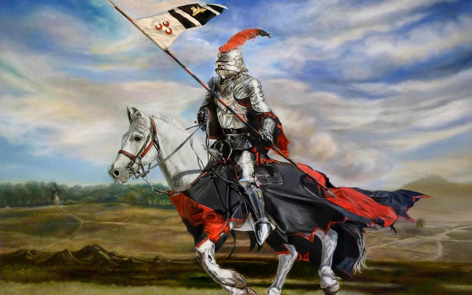 Рыцари в картинках