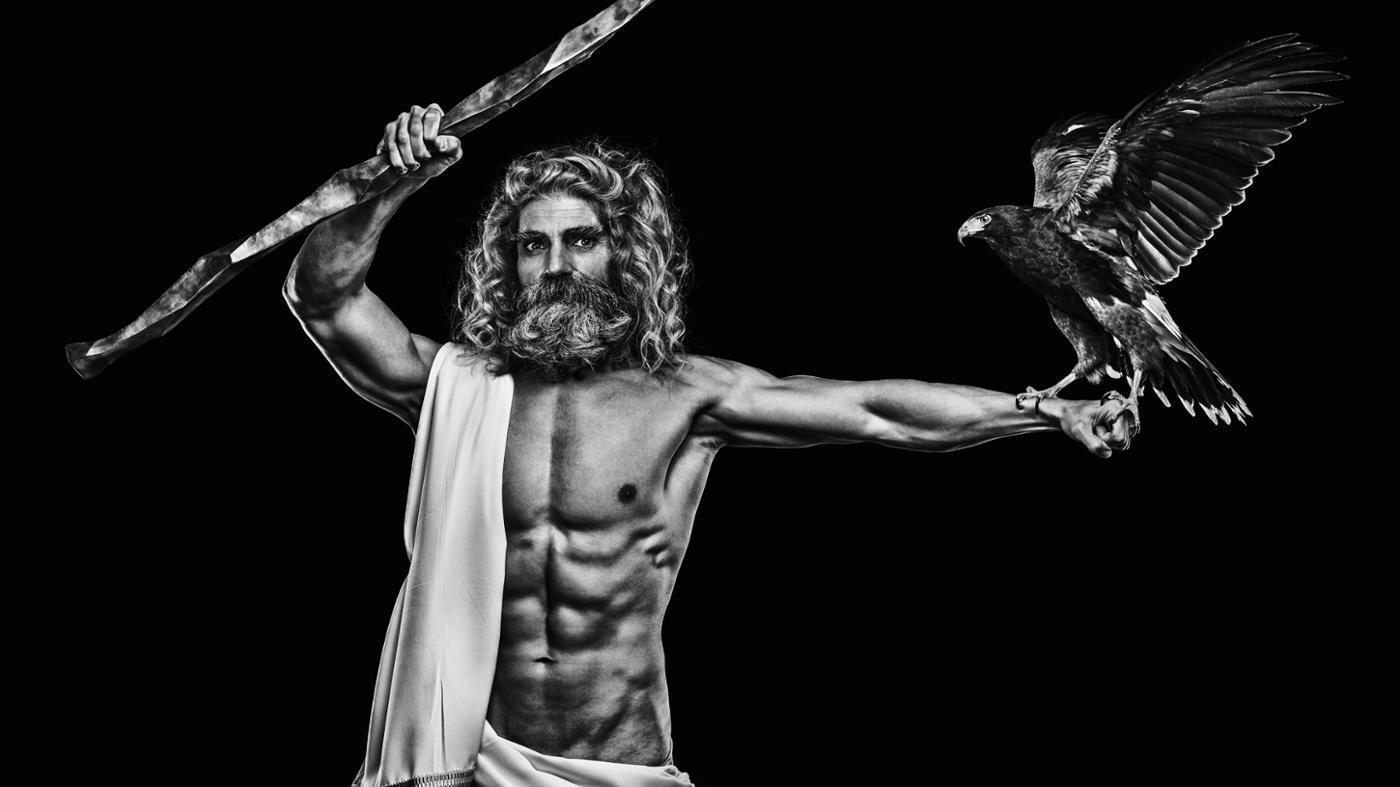 zeus the greek god on emaze