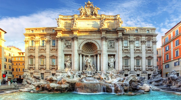 Bildresultat för fontana di trevi