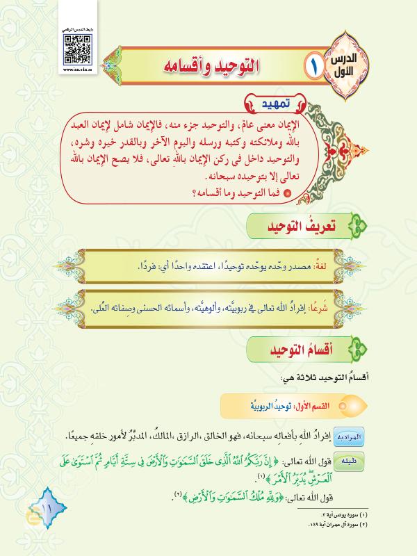 درس التوحيد وأنواعه By Ibrahimbalabed On Emaze