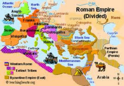 Rome And Ancient Greece On Emaze - Ancient rome map roman empire