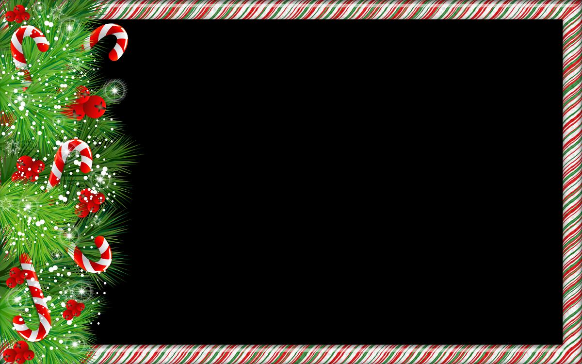 Contemporáneo Ornamento Del Marco De La Imagen De Navidad ...