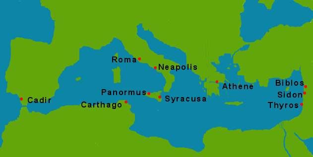 GreecoRoman Musem On Emaze - Ancient rome map tiber river