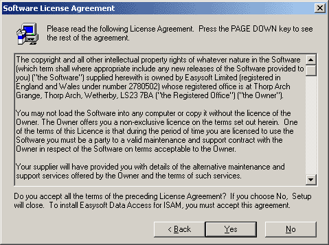Presentation Name on emaze – Software License Agreement Template