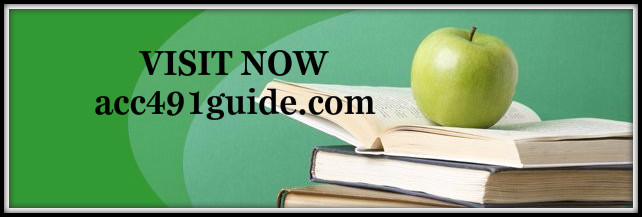 acc 491 week 1 dq 2 Acc 491 entire course download –   in this archive file of acc 491 entire course you will find.