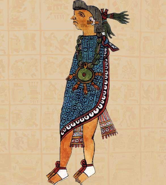 ancient aztec clothing - 585×650