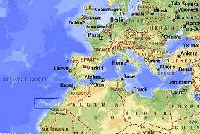 Cartina Geografica Canarie.Presentation Namet By La Rocca On Emaze