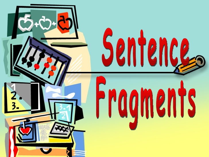 Sentence Fragment on emaze