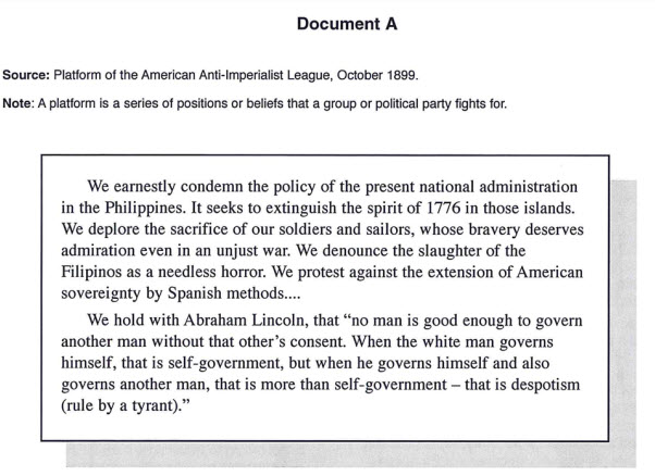 an analysis of the annexation of the philippines by the united states Annexation of the philippines by the united states was felt to be justified by those in the us government and media who supported the conflict through the aguinaldo swore an oath accepting the authority of the united states over the philippines and pledging his allegiance to the american.