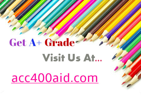 ACC 400 AID The learning inter...