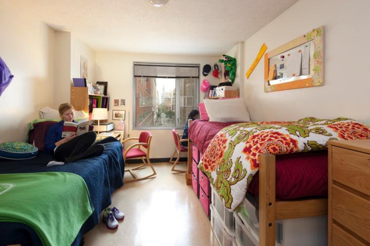 Wonderful NYU Dorm Room Part 9