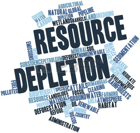 depletion of resources The main substances attributed to the depletion of atmospheric ozone are halogenated hydrocarbons, chemicals invented in 1928 as refrigerants from europarl parallel corpus - english you have understood climate change and the depletion of energy resources.