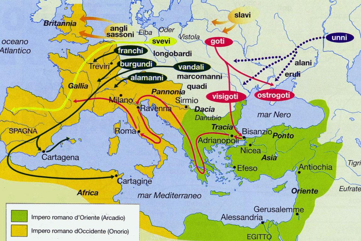 La Caduta Dell'impero Romano D'oriente: Riassunto - …