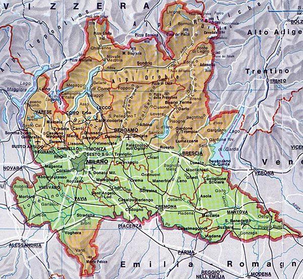 Cartina Lombardia Pdf.La Lombardia By Stepas Caman On Emaze