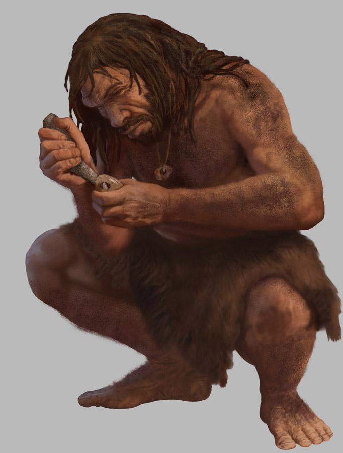 картинки неандерталец и кроманьонец стены башни