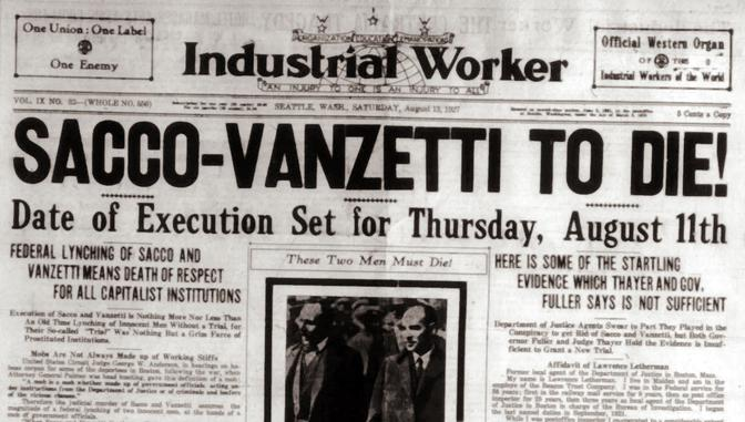 sacco and vanzetti case essay Grippo's interest in the case dates to an early memory, as a 10-year-old who  heard a radio broadcast about sacco and vanzetti in connection with the 10th.