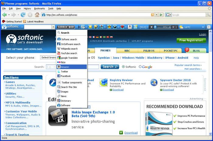 Free softonic download