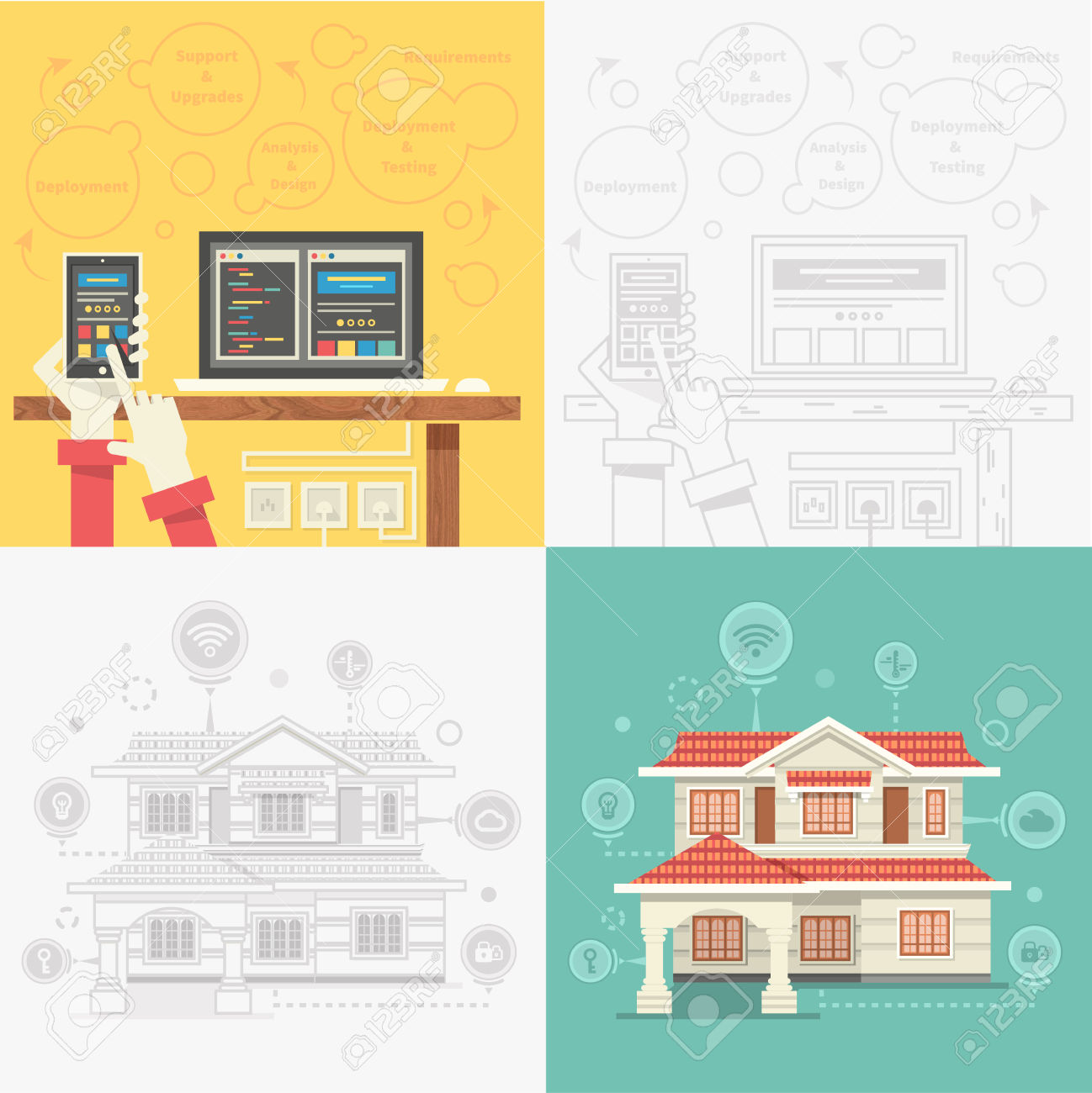 People talking clip art in addition 3d home design house additionally - In Addition It Will Contain The Components That Will Be Controlled Which Are A Fan Lamps And Motor Moreover The Room Prototype Has A Weight Of 2 5 Kg