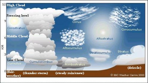 Types of Clouds on emaze