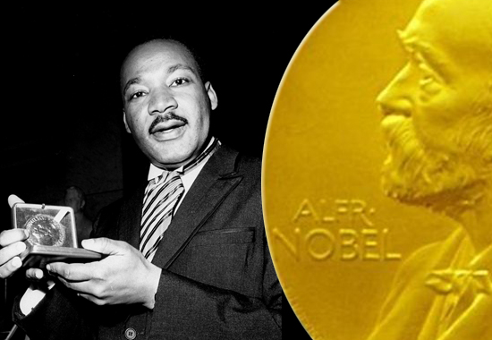 Image result for dr. martin luther king wins the nobel peace prize
