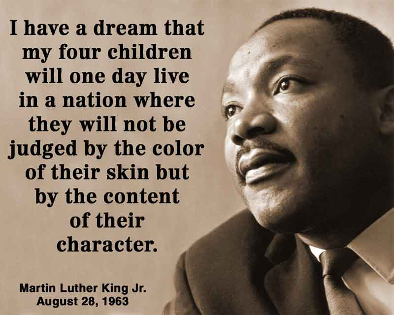 Image result for it is not the colour of our skin that should matter martin luther king