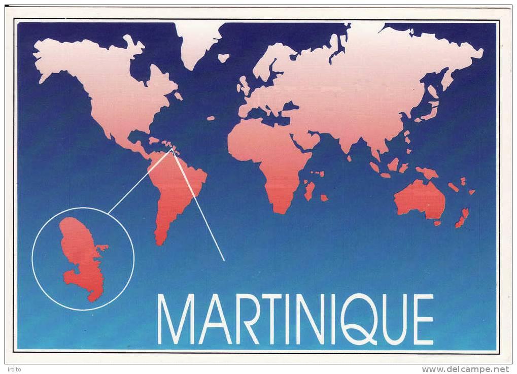 La Martinique Sur Une Carte Du Monde | My blog