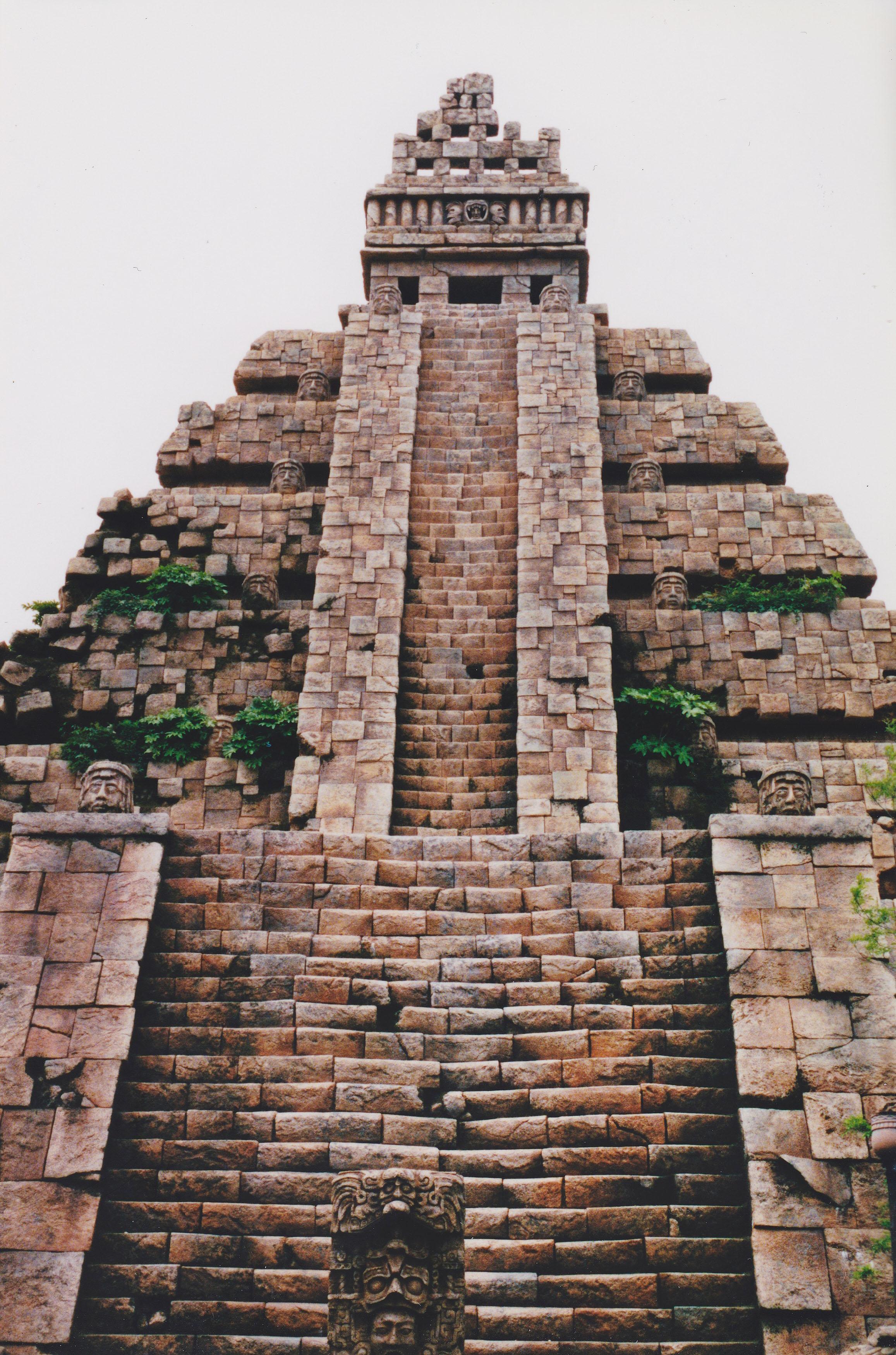 mayan sacrifice temple - HD2314×3498