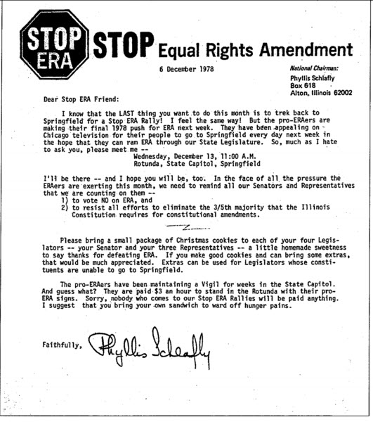 why was the equal rights amendment defeated