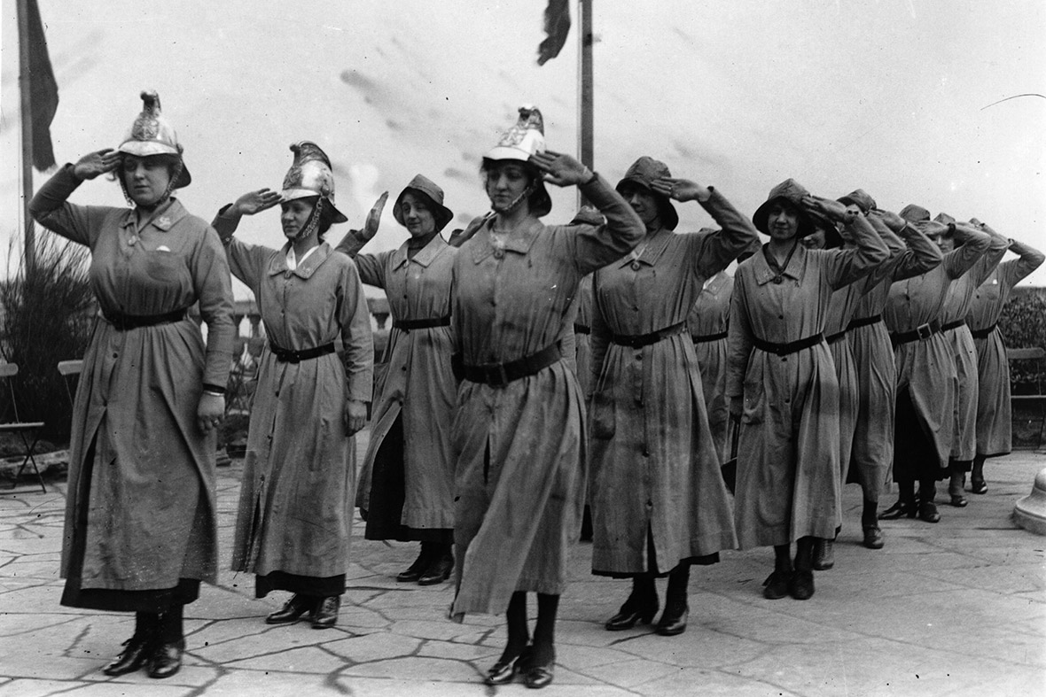 The contributions of Women during WWI on emaze