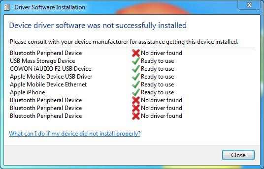 периферийное устройство bluetooth драйвер windows 7