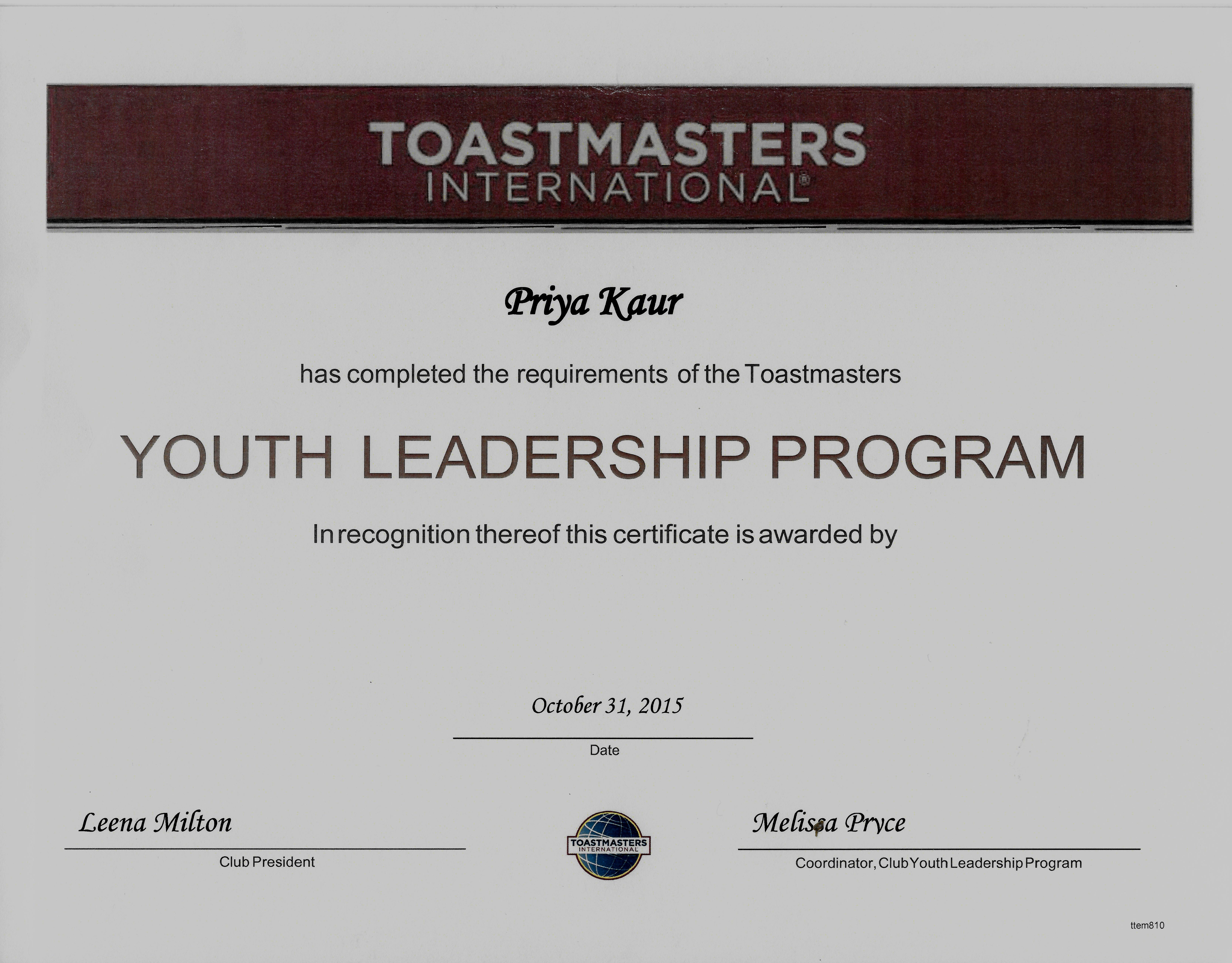 toastmasters presentation template � brettfranklinco