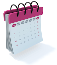Calendario Rosa Png.Cancerdemama