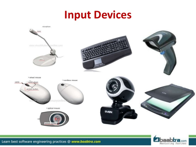 input and output devices of a computer essay Devices that help us put data into the computer are called input devices  the  speakers are the output devices that produce different types of.