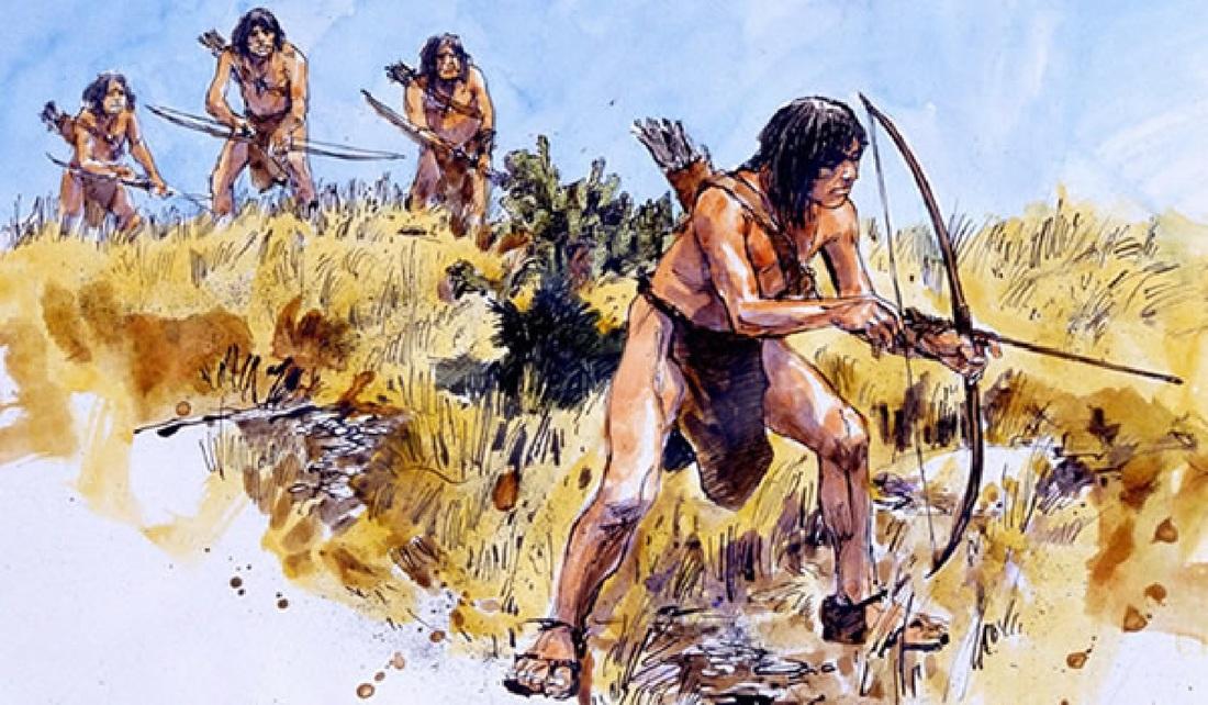 Первобытные охотники картинки