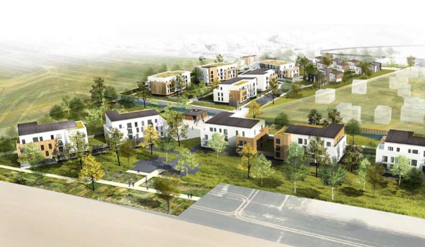 Tumulu on emaze for Architecture qui se fond dans le paysage