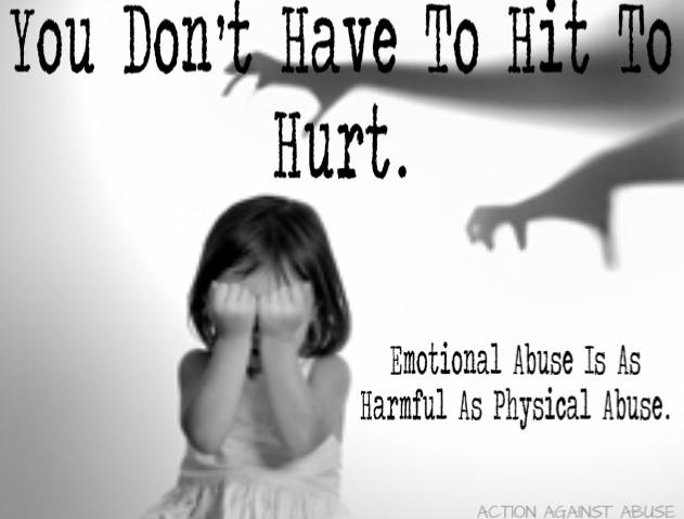 Emotional Child Abuse Awareness