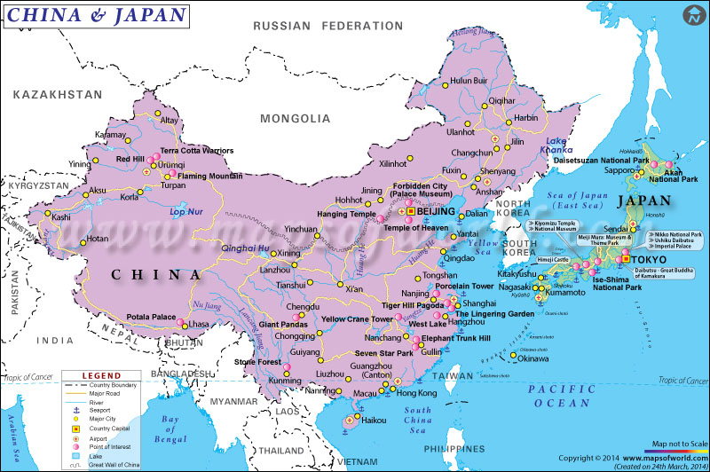 the influence of china on japan