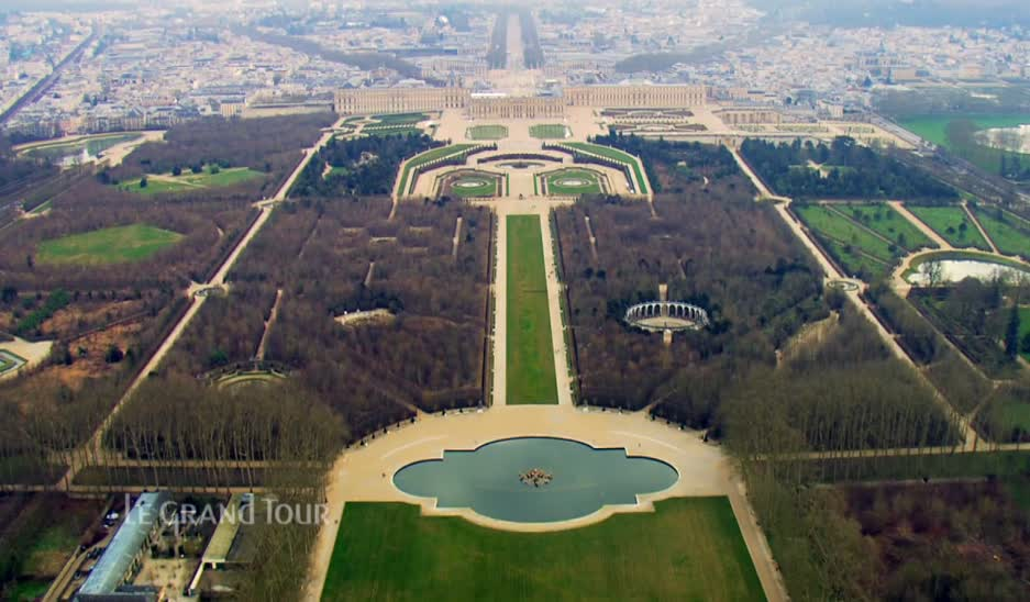 Jardin De Versailles Vue Du Ciel