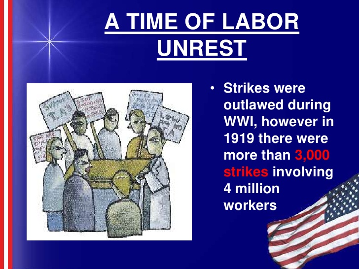 impact of labour unrest on oganisation Definition of labour - work, especially physical work, the labour party, the process of childbirth from the start of uterine contractions to delivery, a.