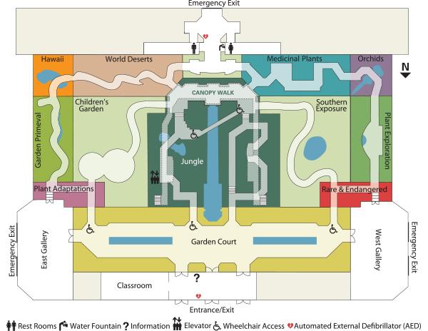 Field Trip - Us botanic garden map