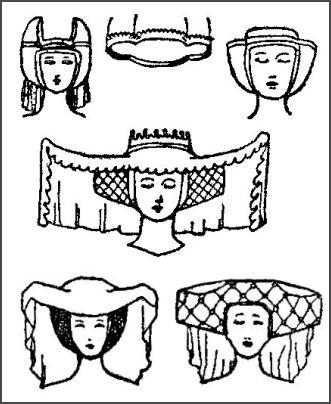 hair styles for big heads the middle ages on emaze 1485