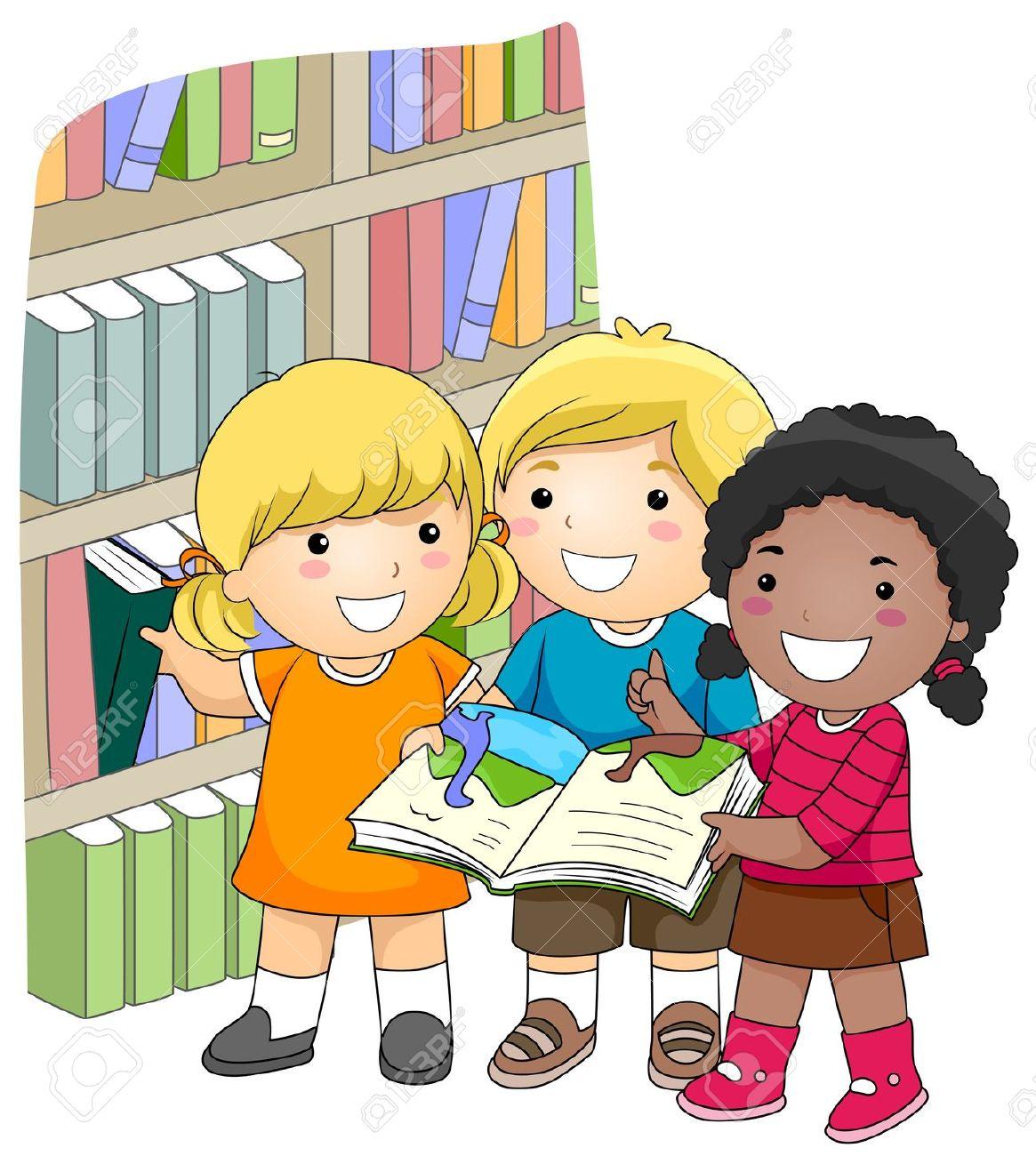 Imagen De Ninos Estudiando Animados