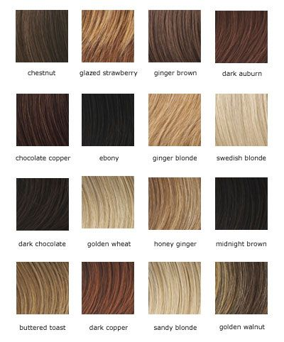 Hair Color Chart Balayage Ombré Diffe Tones And Shades Of Blonde Hairstyles