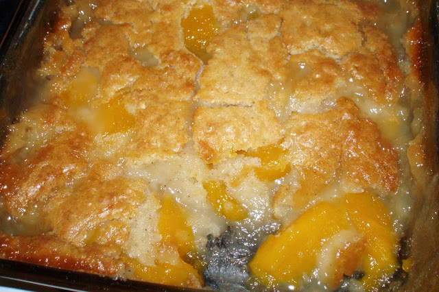 Peach Cobbler Recipe With Cake Mix And Fresh Peaches